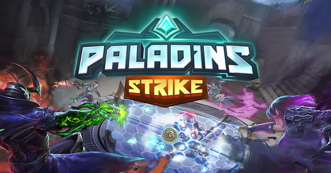Paladins Strike available now, only in Australia 2