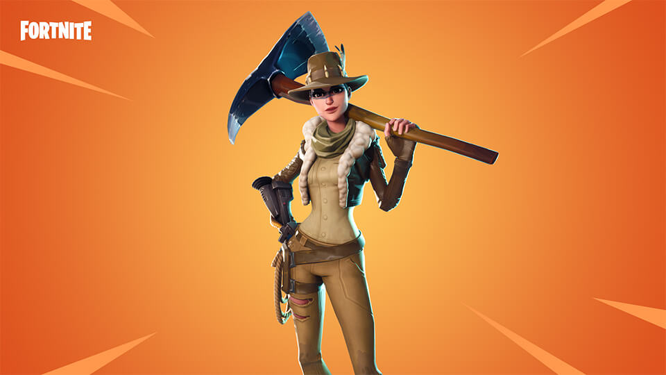 Fortnite ARCHAEOLO JESS (SAVE THE WORLD)