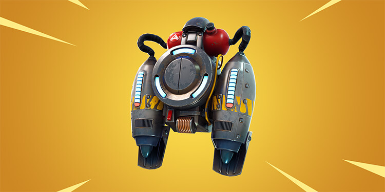 Fortnite V4.2 added new item Jetpacks
