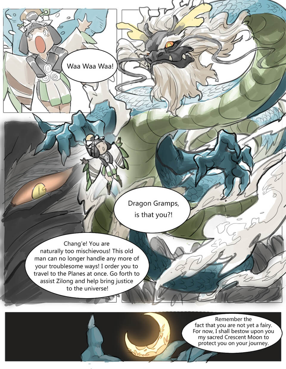 Mobile Legends: Bang Bang: The Origin of Chang'e - Comic page 6