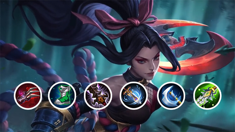 Hanabi item builds Mobile Legends: Bang Bang