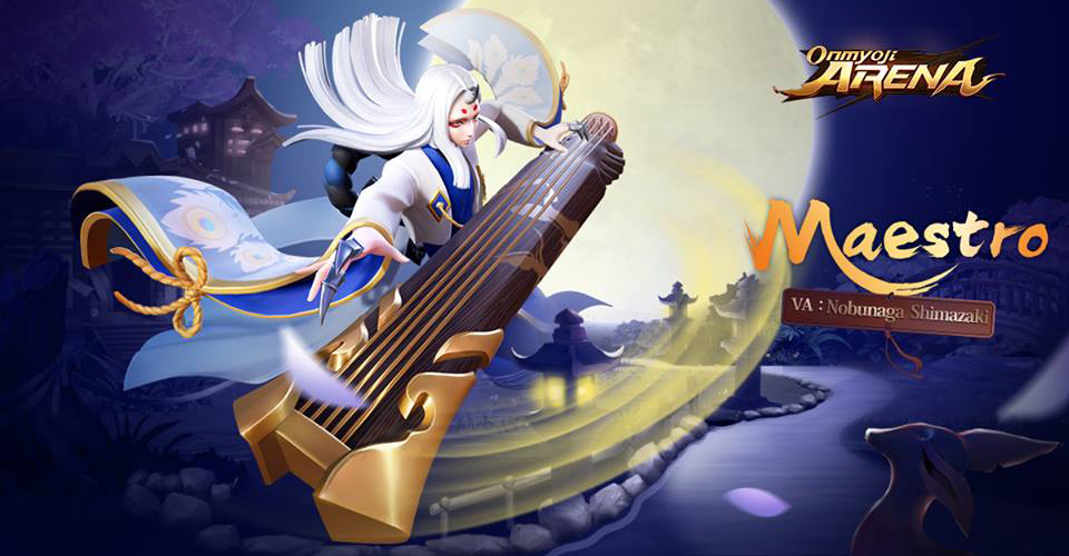 New shikigami Maestro is coming to Onmyoji Arena