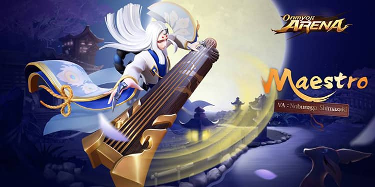 New shikigami Maestro is coming to Onmyoji Arena 1