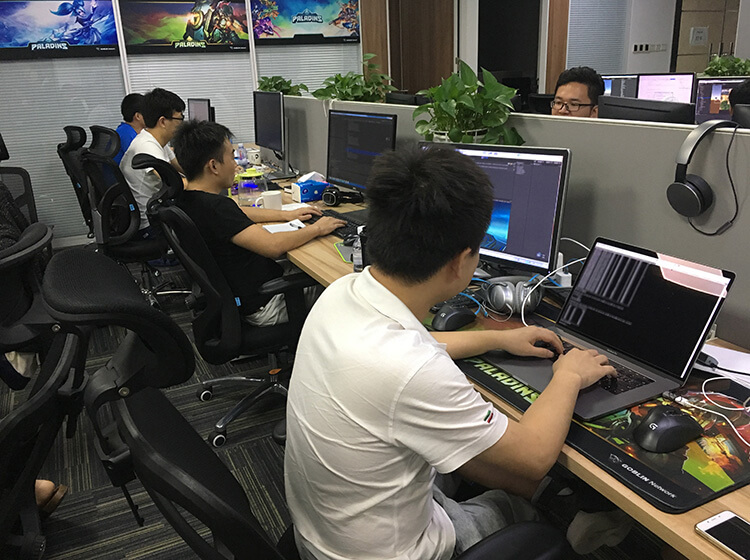 Paladins Strike dev team