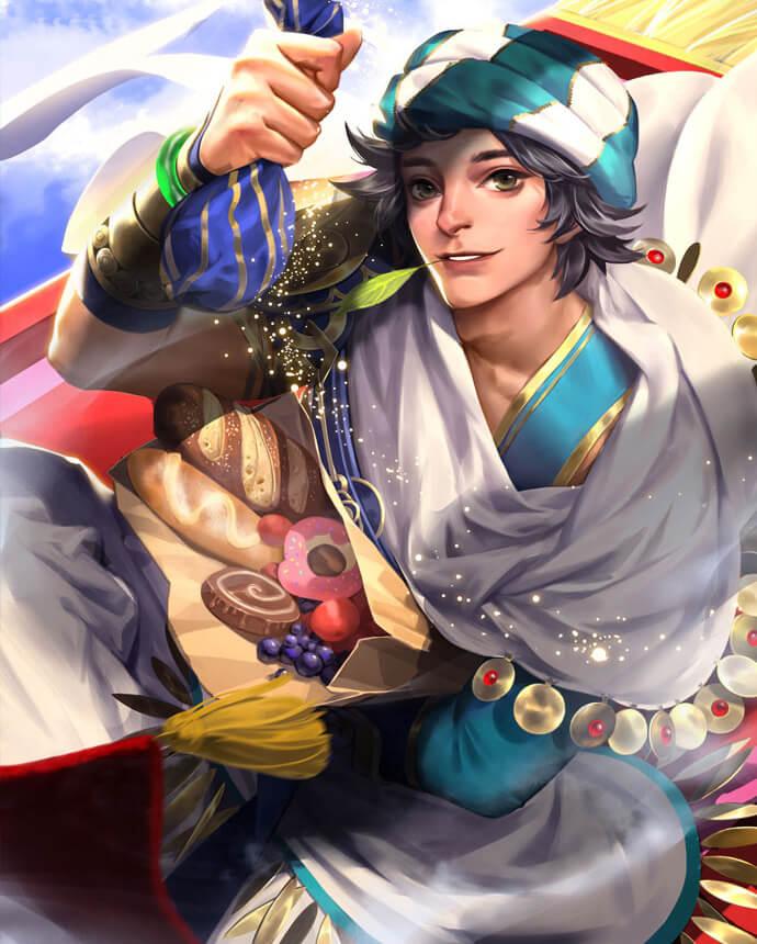 Paladins Strike Sha Lin Desert Prince (Unlocked with Crystals)