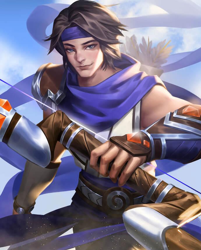 Paladins Strike Sha Lin Aero (Unlocked in Awards)