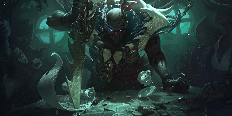 League of Legends revealed new champion Pyke 2