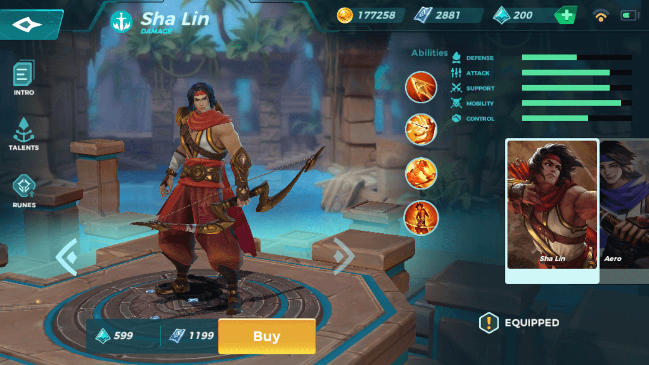 Sha Lin in Paladins Strike