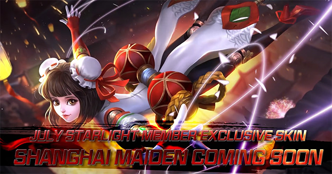 Angela Shanghai Maiden is MLBB July Starlight Exclusive Skin