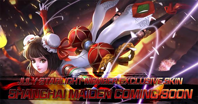 Angela Shanghai Maiden is MLBB July Starlight Exclusive Skin 2