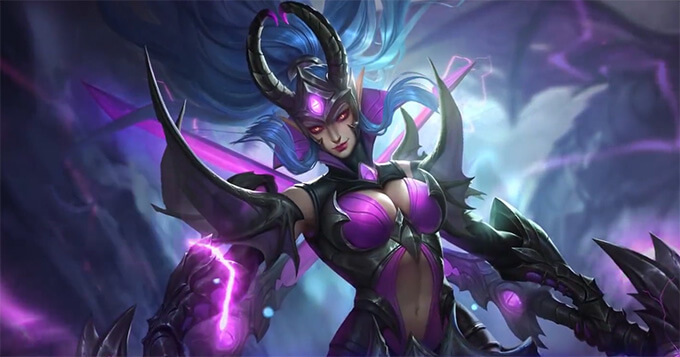Epic skin Karina Doom Duelist arrived in Mobile Legends: Bang Bang 3