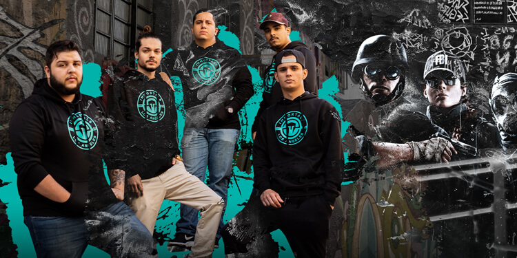 Immortals Announces Rainbow Six: Siege Team 1