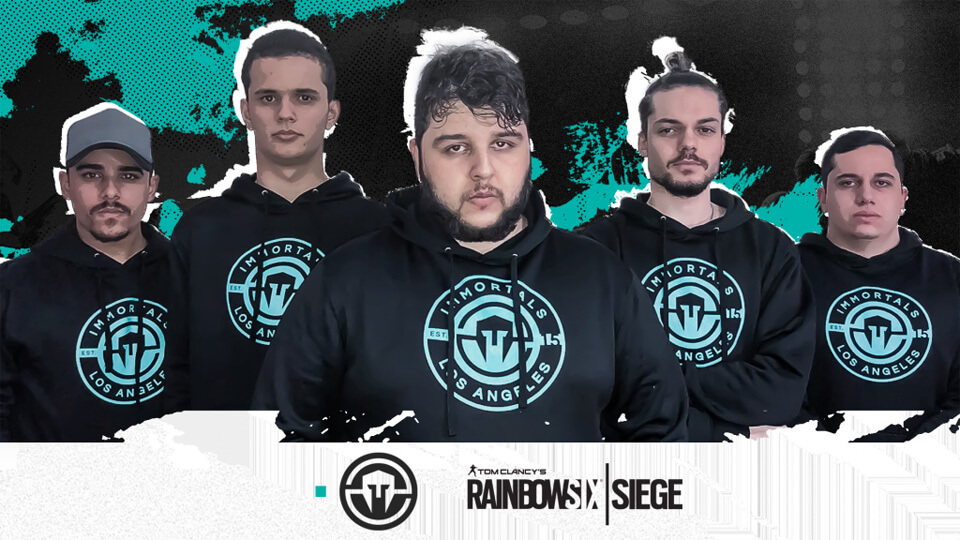 Immortals Announces Rainbow Six: Siege Team