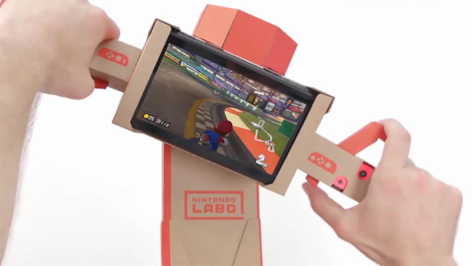 Mario Kart 8 Deluxe is now compatible with Nintendo Labo - Screenshot 2