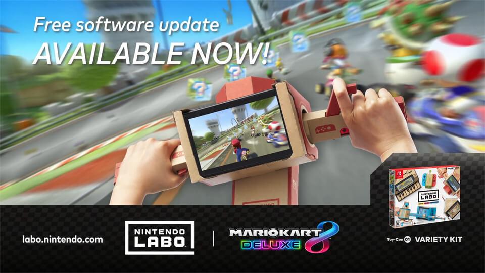 Mario Kart 8 Deluxe is now compatible with Nintendo Labo - Screenshot 4