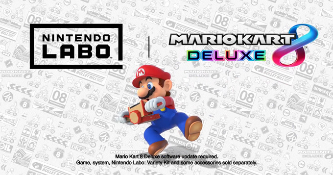 Mario Kart 8 Deluxe is now compatible with Nintendo Labo! 5