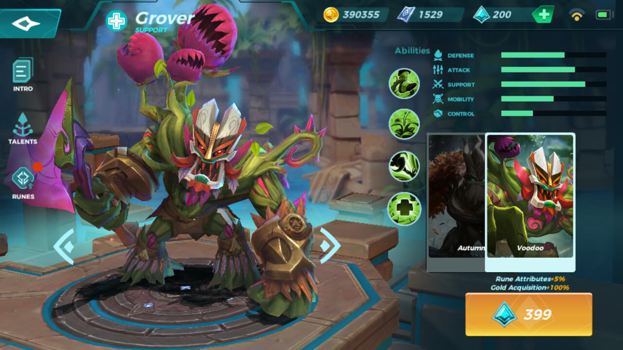 Grover Voodoo (Unlocked by Crystals)