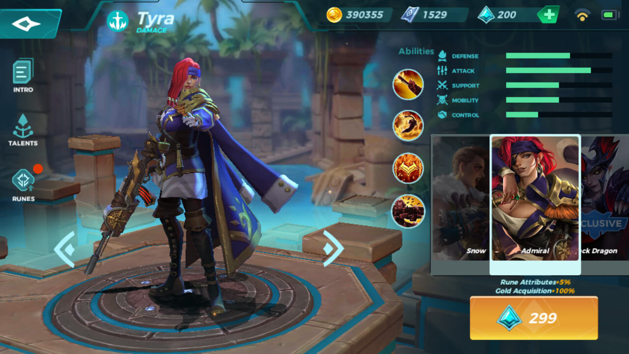 Admiral (Unlocked by Crystals)