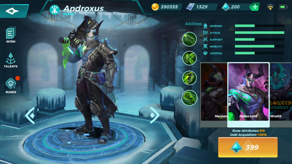 Paladins Strike Fallen Lord (Unlocked by Crystals)