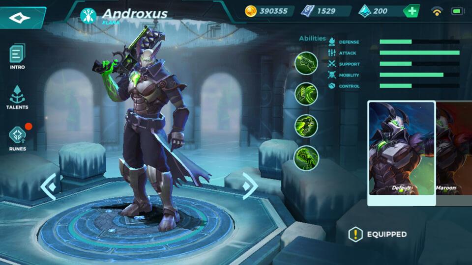 Paladins Strike Androxus