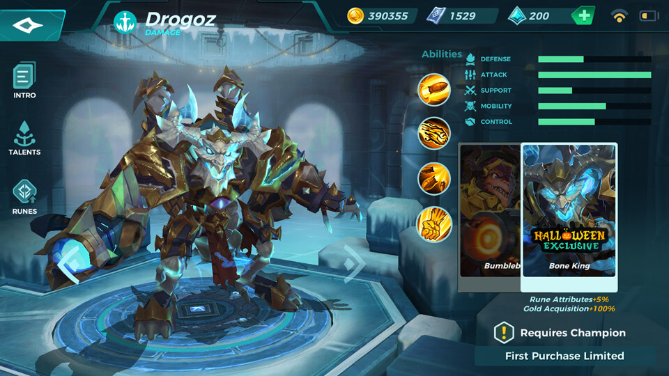 Drogoz Bone King (First Purchase Limited) Paladins Strike