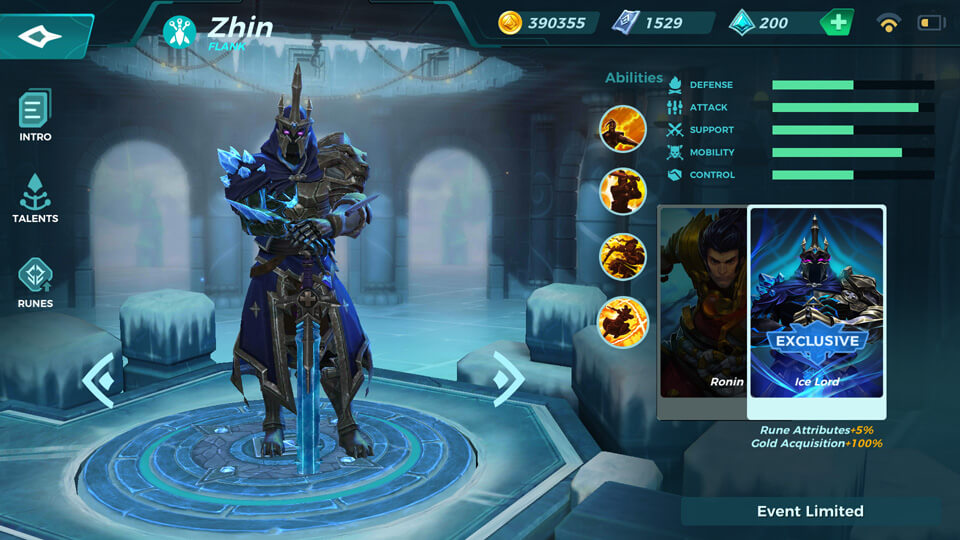 Paladins Strike Ice Lord (Event Limited)