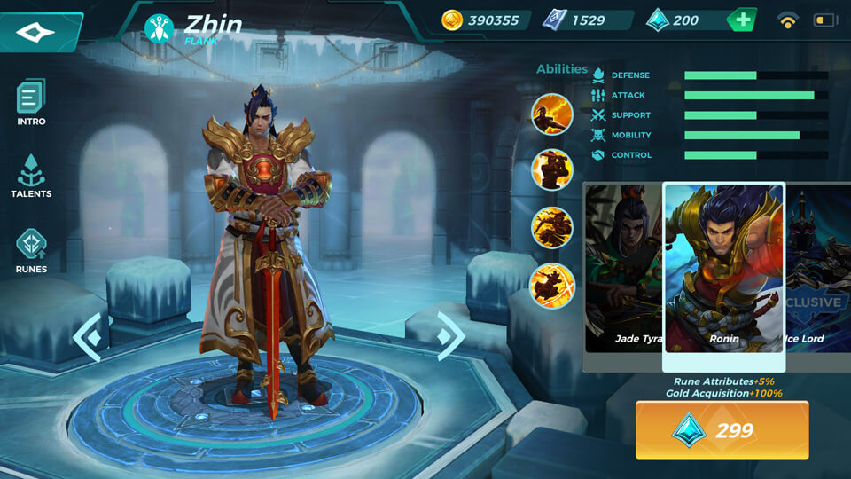 Paladins Strike Ronin (Unlocked by Crystals)