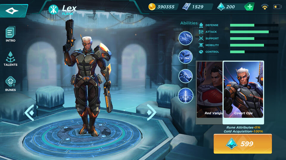 Lex Convert Ops (Unlocked by Crystals) Paladins Strike
