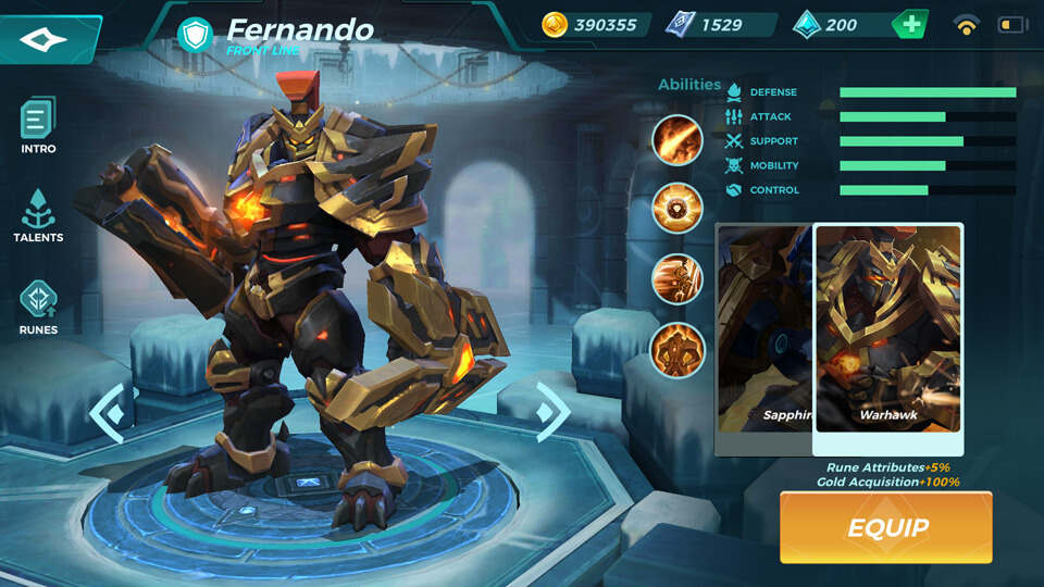 Warhawk (Unlocked by Crystals) Paladins Strike