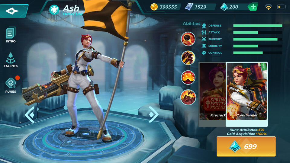 Ash Commander (Unlocked by Crystals) Paladins Strike