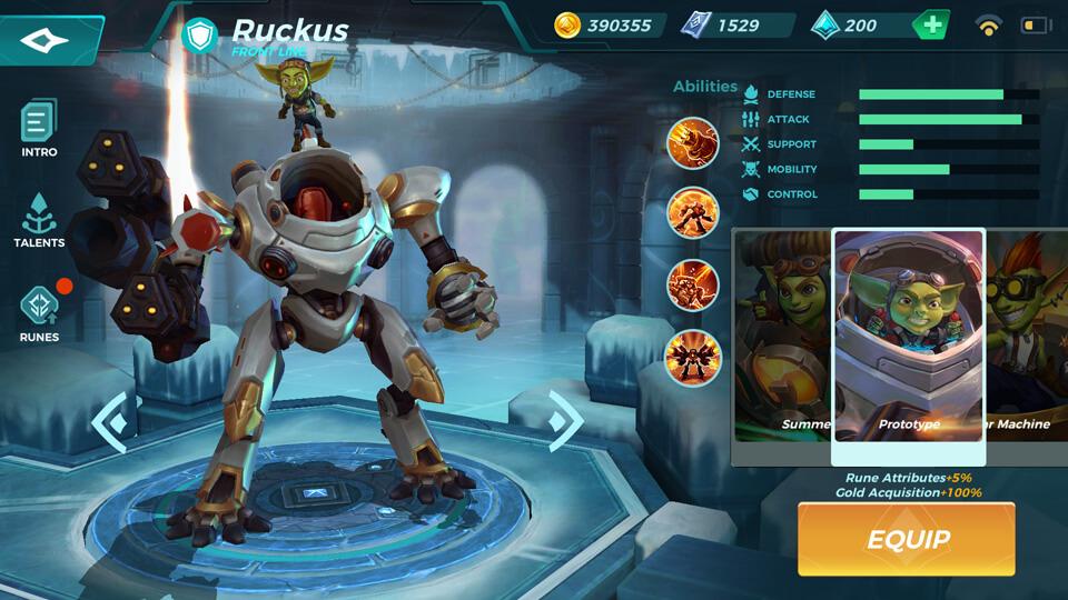 Ruckus Prototype Paladins Strike