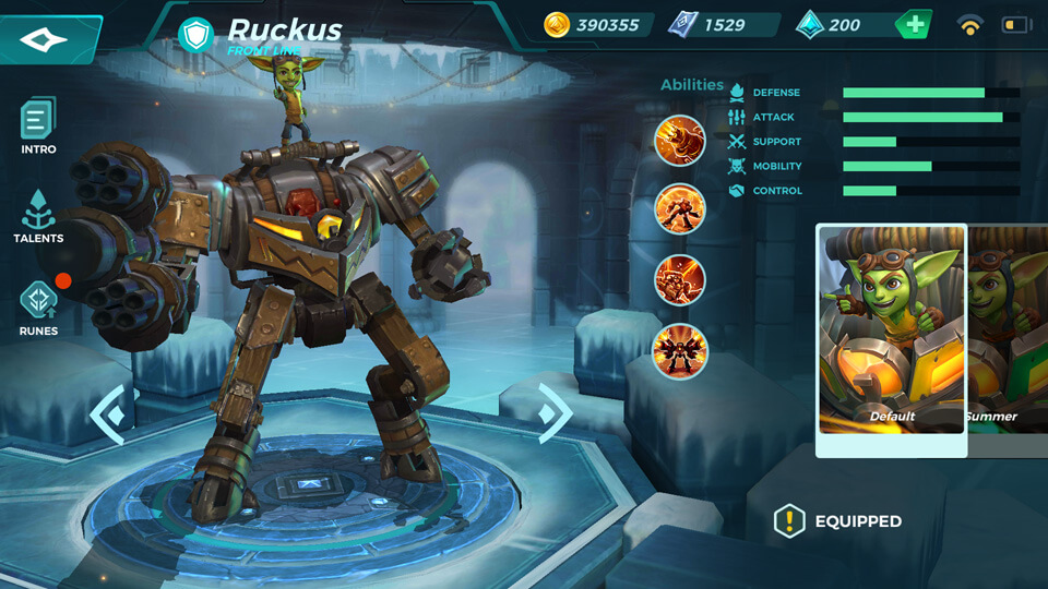 Ruckus Paladins Strike
