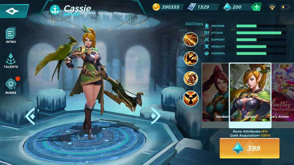 Ranger(Unlocked by Crystals) Paladins Strike