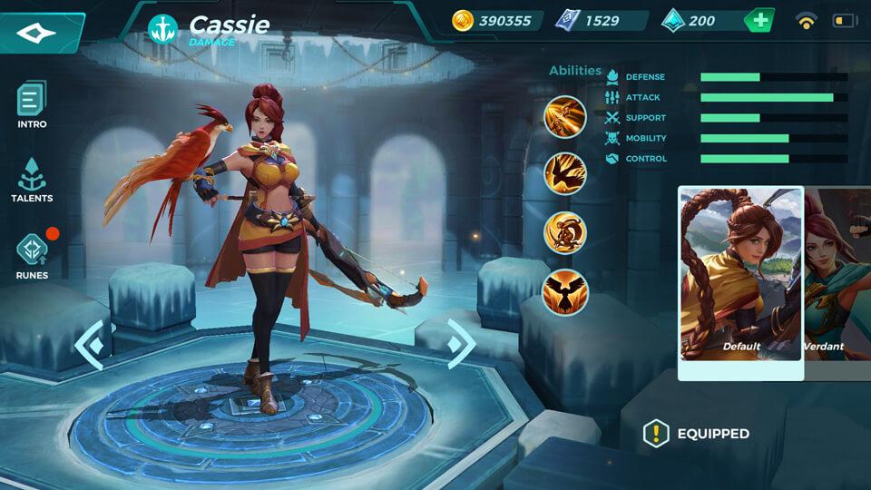 Paladins Strike Cassie