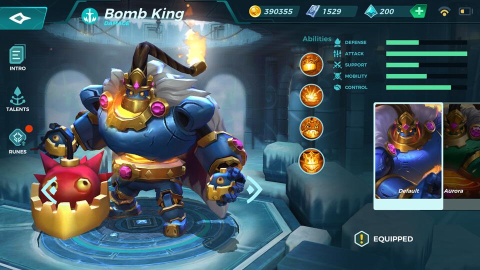 Paladins Strike Bomb King