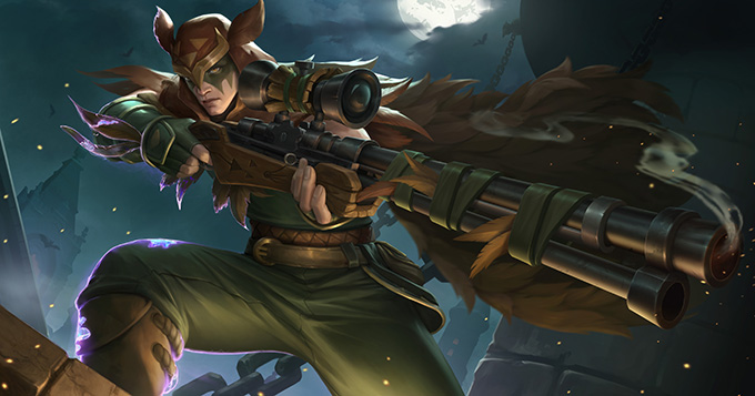 Paladins Strike Added Strix and King Mode 1