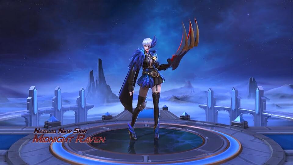 Midnight Raven Mobile Legends: Bang Bang - Screenshot 1