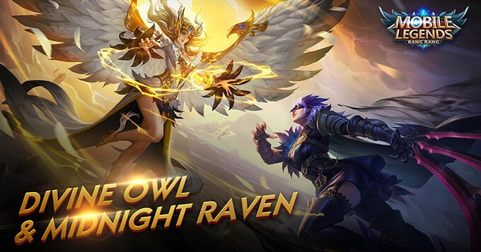 Divine Owl & Midnight Raven are coming to MLBB 3