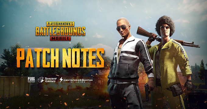 PUBG Mobile 0.8.5 Update Patch Notes