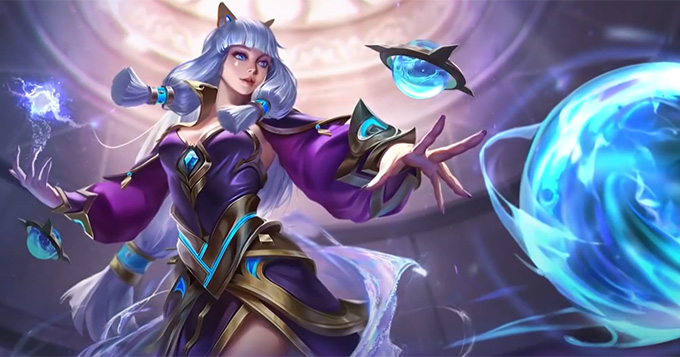 The Guinevere's fourth skin is Amethyst Dance