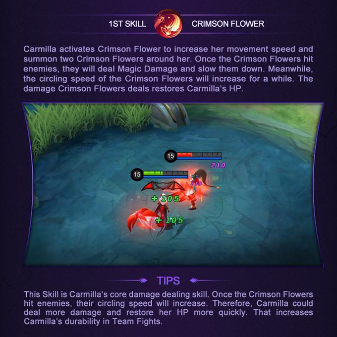 Mobile Legends: Bang Bang Hero Academy Carmilla - 1st Skill