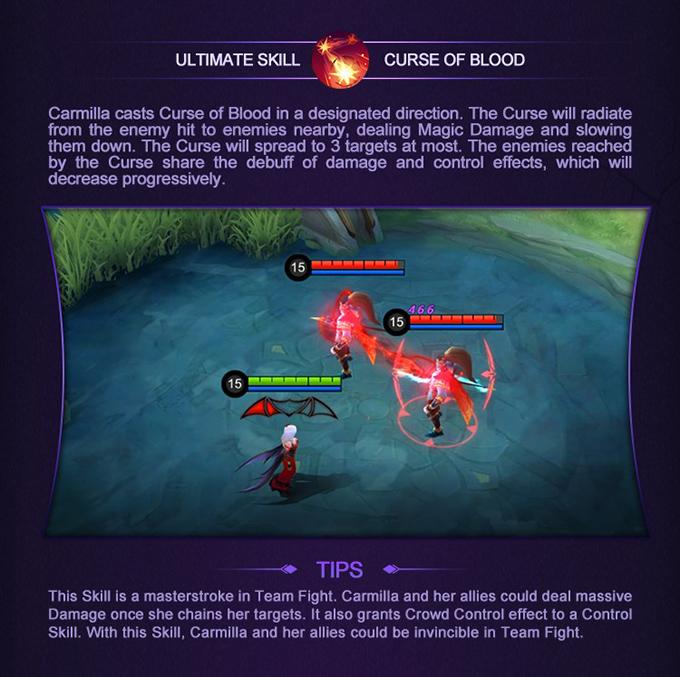 Mobile Legends: Bang Bang Hero Academy Carmilla - Ultimate Skill