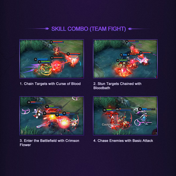 Mobile Legends: Bang Bang Hero Academy Carmilla - Skill Combo Team Fight