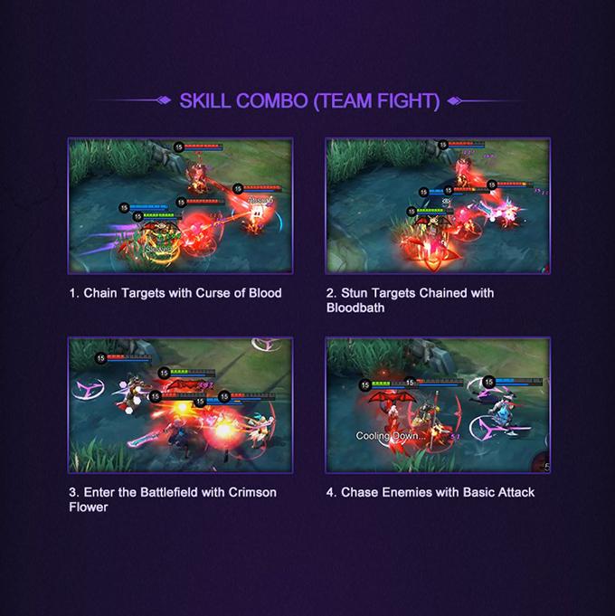 Mobile Legends: Bang Bang Hero Academy Carmilla - Skill Combo Team Fight