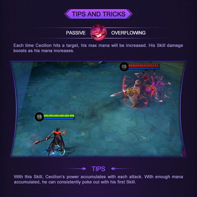 MLBB Hero Academy Cecilion - Tips and Tricks
