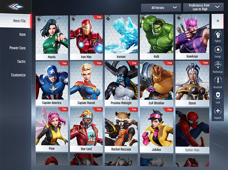 Free Hero Rotation MARVEL Super War March 26th 2020 Update