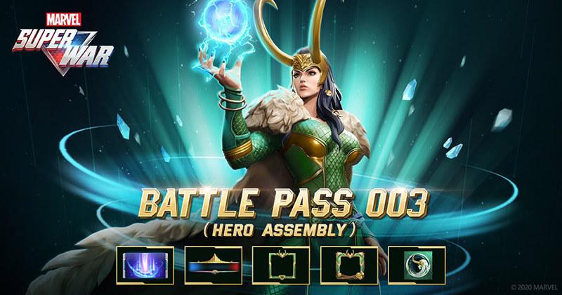MARVEL Super War Battle Pass 003