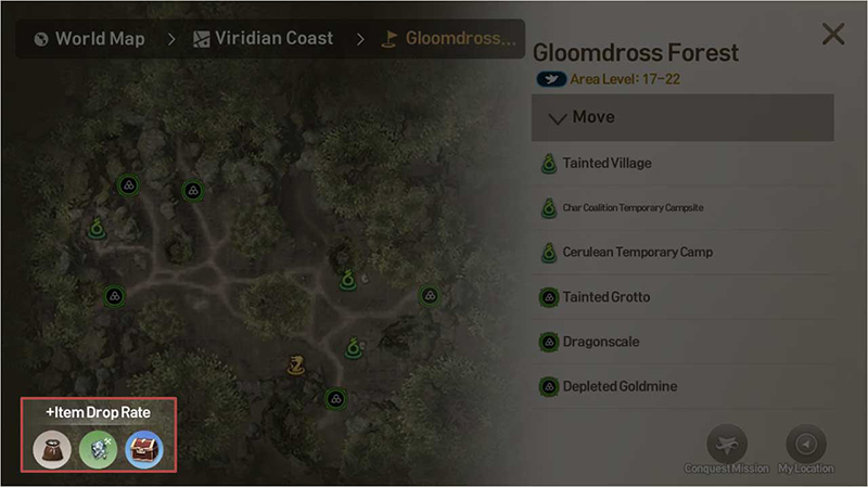 Go on the repeatable quests in each area to hunt and for additional quest completion rewards