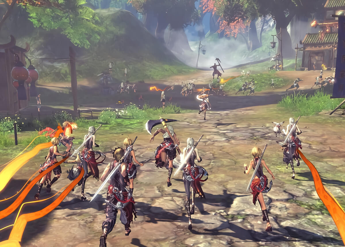 Blade & Soul Revolution gets even more enjoyable with friends