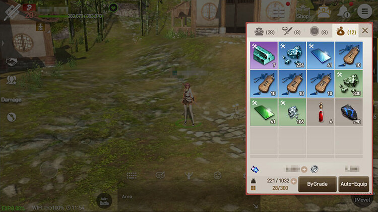 The Auto-Equip feature doesn't consider Set Bonus and Reforge Options.